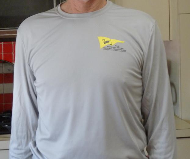 Gray Crew-Neck Tech Shirt